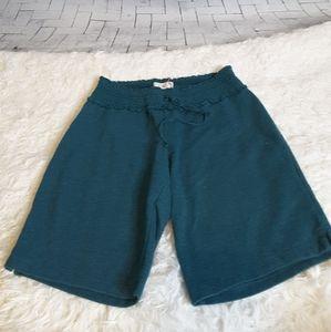 3/$15 OP green elastic gathered waist shorts S 3/5